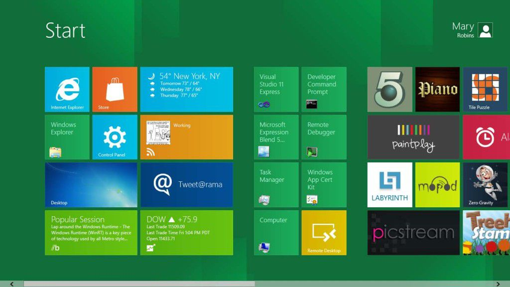 windows 8 escritorio