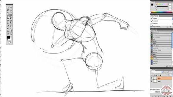 Curso básico para aprender a dibujar figura humana