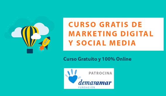 Curso Gratuito de Marketing Digital y Social Media