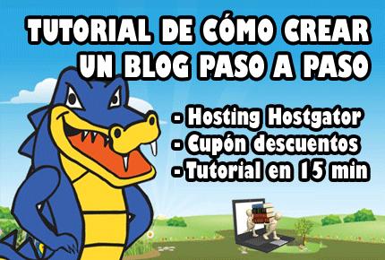 como crear un blog hostgator