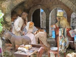 Curso pintar figuras del Belen