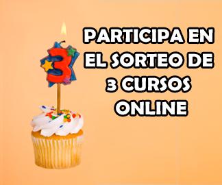 3 aniversario y sorteo de 3 cursos con certificaci n mil cursos gratis - Certificado de manipulador de alimentos gratis online ...