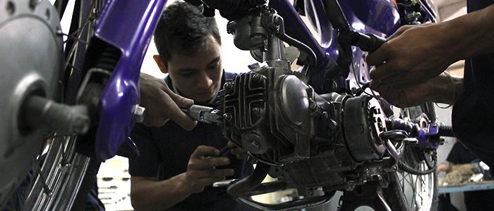 Curso gratis de mecánico de motocicletas