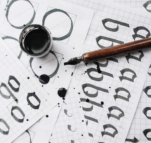 Curso gratis online de caligrafia